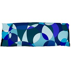 Blue abstraction Body Pillow Case (Dakimakura) by Valentinaart