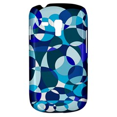 Blue Abstraction Samsung Galaxy S3 Mini I8190 Hardshell Case by Valentinaart