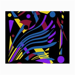 Optimistic Abstraction Small Glasses Cloth (2 Side) by Valentinaart