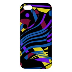 Optimistic Abstraction Iphone 5s/ Se Premium Hardshell Case by Valentinaart