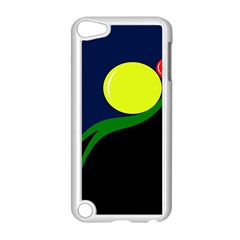 Falling  Ball Apple Ipod Touch 5 Case (white) by Valentinaart