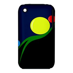 Falling  Ball Apple Iphone 3g/3gs Hardshell Case (pc+silicone) by Valentinaart