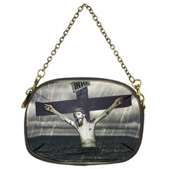 Jesus On The Cross At The Sea Chain Purses (one Side)  by dflcprints