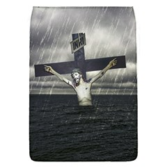 Jesus On The Cross At The Sea Flap Covers (s)  by dflcprints