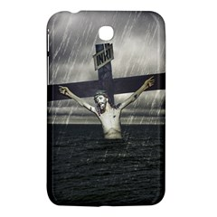 Jesus On The Cross At The Sea Samsung Galaxy Tab 3 (7 ) P3200 Hardshell Case  by dflcprints