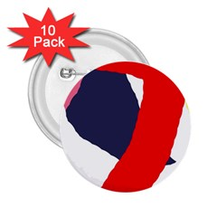 Beautiful abstraction 2.25  Buttons (10 pack)