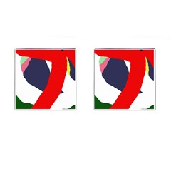 Beautiful Abstraction Cufflinks (square) by Valentinaart