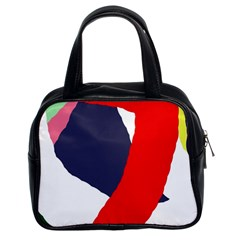 Beautiful Abstraction Classic Handbags (2 Sides) by Valentinaart