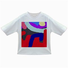 Crazy Abstraction Infant/toddler T Shirts by Valentinaart