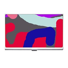Crazy Abstraction Business Card Holders by Valentinaart