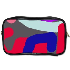 Crazy Abstraction Toiletries Bags by Valentinaart