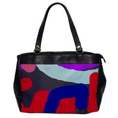 Crazy Abstraction Office Handbags by Valentinaart