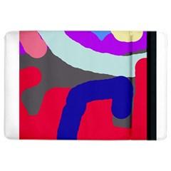 Crazy abstraction iPad Air 2 Flip by Valentinaart