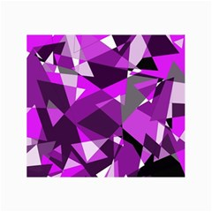 Purple Broken Glass Collage Prints by Valentinaart