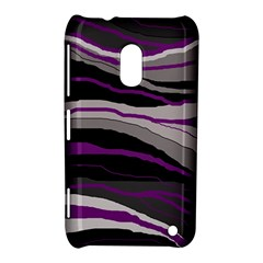 Purple and gray decorative design Nokia Lumia 620 by Valentinaart