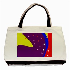 Optimistic Abstraction Basic Tote Bag (two Sides) by Valentinaart