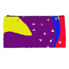 Optimistic Abstraction Pencil Cases by Valentinaart