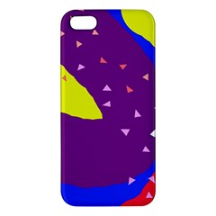 Optimistic Abstraction Apple Iphone 5 Premium Hardshell Case by Valentinaart