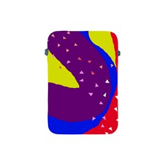 Optimistic Abstraction Apple Ipad Mini Protective Soft Cases by Valentinaart