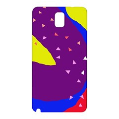 Optimistic Abstraction Samsung Galaxy Note 3 N9005 Hardshell Back Case by Valentinaart