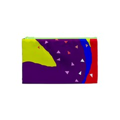 Optimistic Abstraction Cosmetic Bag (xs) by Valentinaart