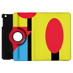 Abstract Landscape Apple Ipad Mini Flip 360 Case by Valentinaart