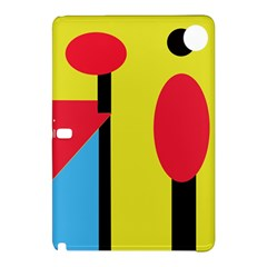Abstract Landscape Samsung Galaxy Tab Pro 12 2 Hardshell Case by Valentinaart