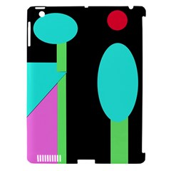 Abstract Landscape Apple Ipad 3/4 Hardshell Case (compatible With Smart Cover) by Valentinaart