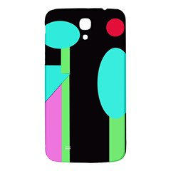 Abstract Landscape Samsung Galaxy Mega I9200 Hardshell Back Case by Valentinaart