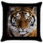Tiger Throw Pillow Case (Black)