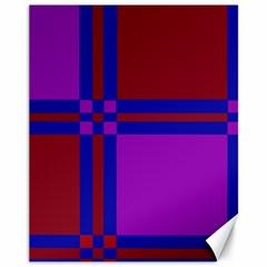 Deorative Design Canvas 11  X 14   by Valentinaart