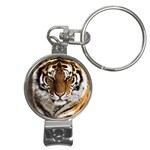 Tiger Nail Clippers Key Chain