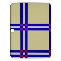 Elegant lines Samsung Galaxy Tab 3 (10.1 ) P5200 Hardshell Case
