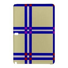 Elegant Lines Samsung Galaxy Tab Pro 10 1 Hardshell Case by Valentinaart