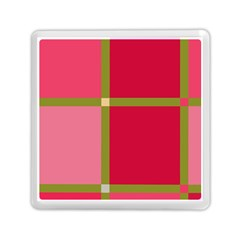 Red And Green Memory Card Reader (square)  by Valentinaart