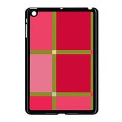 Red And Green Apple Ipad Mini Case (black) by Valentinaart