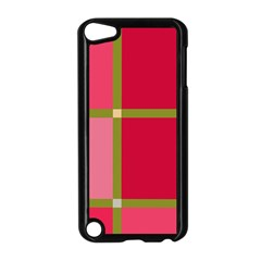 Red And Green Apple Ipod Touch 5 Case (black) by Valentinaart