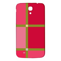 Red And Green Samsung Galaxy Mega I9200 Hardshell Back Case by Valentinaart