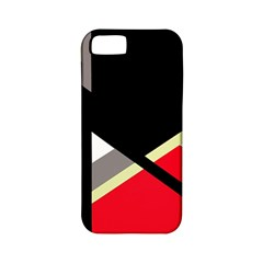 Red And Black Abstraction Apple Iphone 5 Classic Hardshell Case (pc+silicone) by Valentinaart