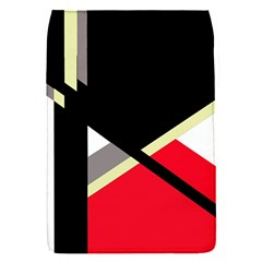 Red And Black Abstraction Flap Covers (s)  by Valentinaart