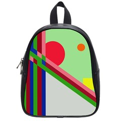 Decorative Abstraction School Bags (small)  by Valentinaart