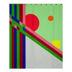 Decorative Abstraction Shower Curtain 60  X 72  (medium)  by Valentinaart