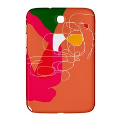 Orange Abstraction Samsung Galaxy Note 8 0 N5100 Hardshell Case
