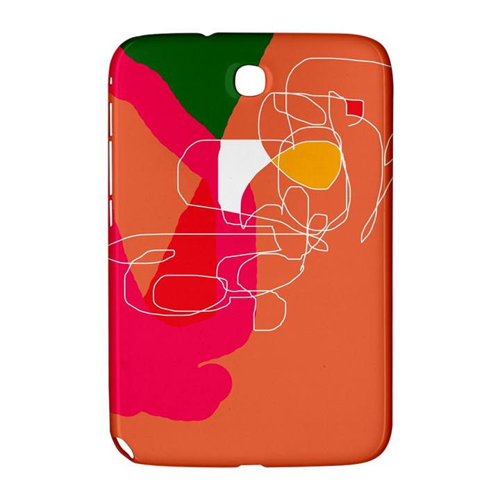 Orange abstraction Samsung Galaxy Note 8.0 N5100 Hardshell Case