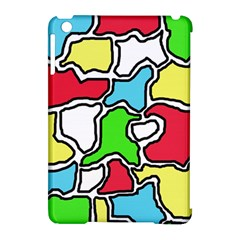 Colorful Abtraction Apple Ipad Mini Hardshell Case (compatible With Smart Cover) by Valentinaart