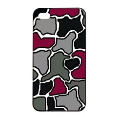 Decorative Abstraction Apple Iphone 4/4s Seamless Case (black)