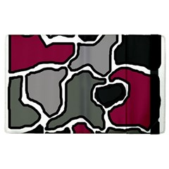 Decorative Abstraction Apple Ipad 3/4 Flip Case by Valentinaart