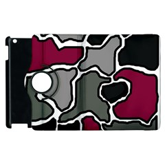 Decorative Abstraction Apple Ipad 3/4 Flip 360 Case by Valentinaart