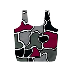 Decorative Abstraction Full Print Recycle Bags (s)  by Valentinaart