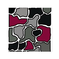 Decorative Abstraction Small Satin Scarf (square) by Valentinaart
